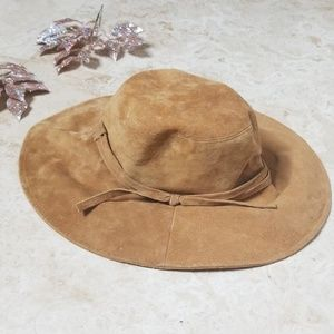 SAN DIEGO HAT CO. Suade Tan Floppy Vacation Hat